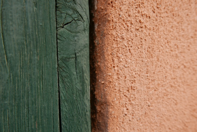 mur vert ocre ARLES