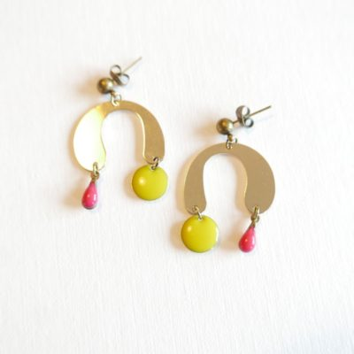 • C A P S U L E • BO mobile ::jaune/rose::